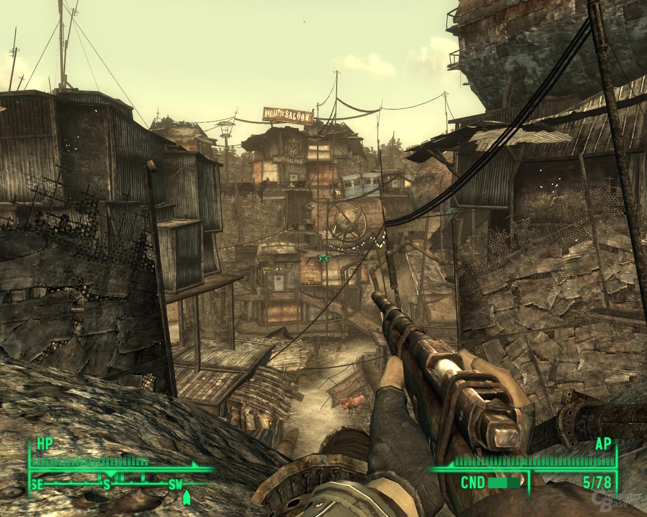 Fallout 3 – Nvidia 8xQAA (MSAA)