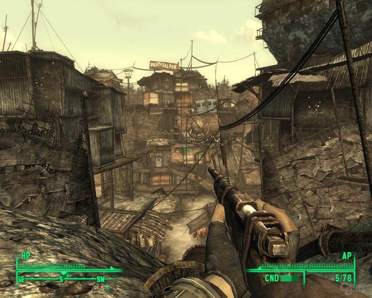 Fallout 3 – Nvidia 8xS (MSAA+SSAA)