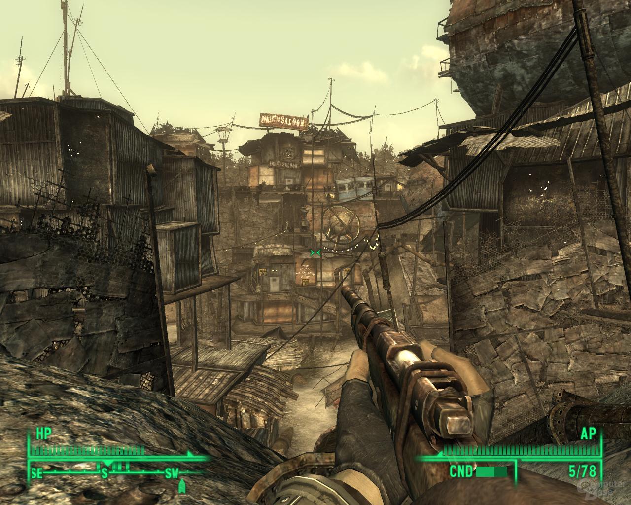 Fallout 3 – Nvidia 2x2AA (SSAA)