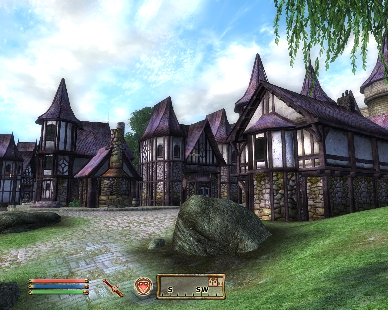 Oblivion – Nvidia 8xS (MSAA+SSAA)