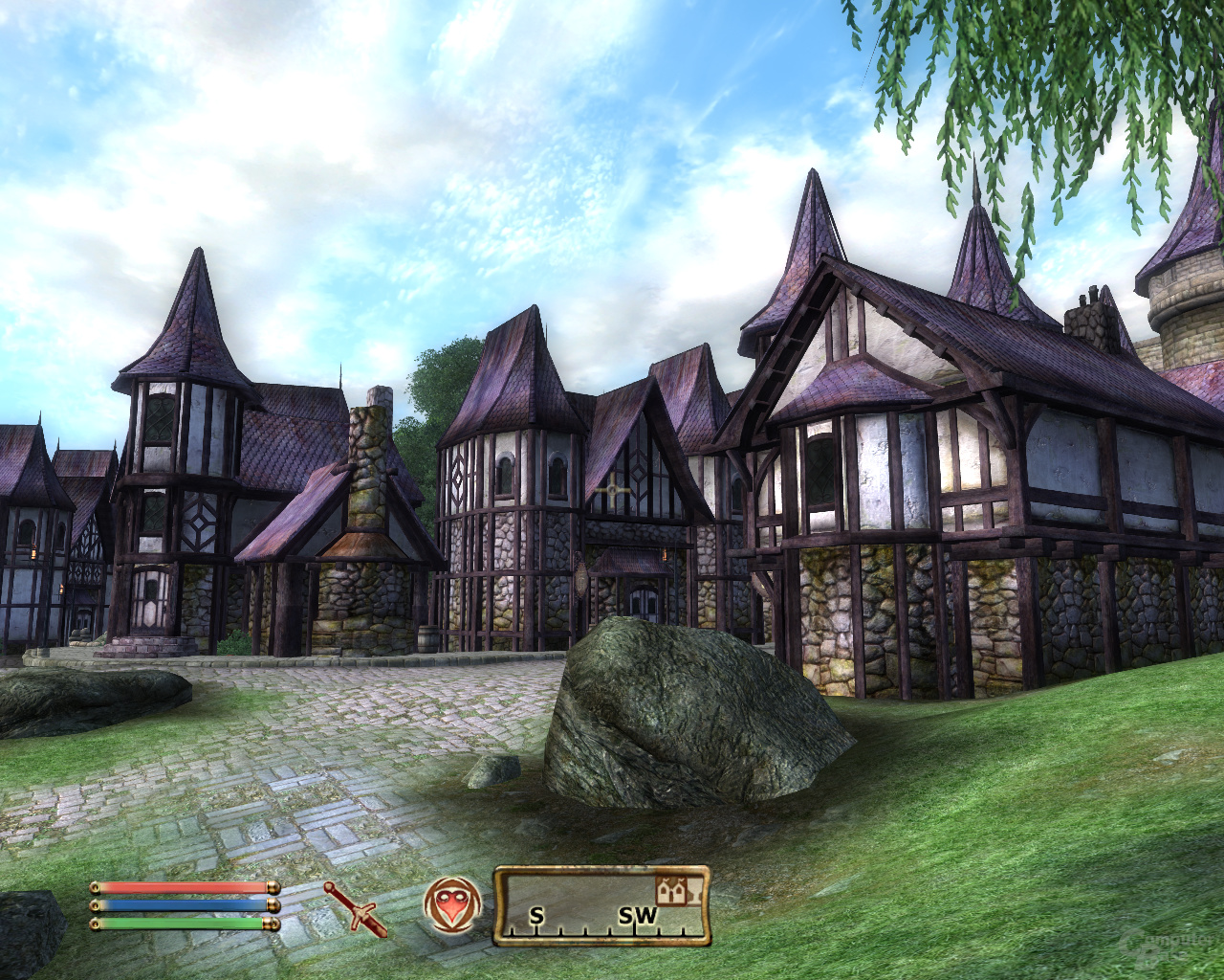 Oblivion – Nvidia 16xS (MSAA+SSAA)