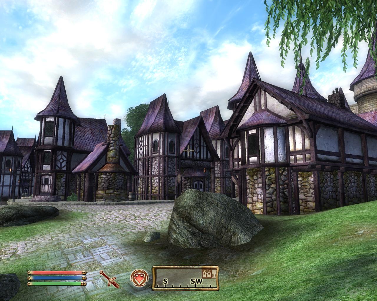 Oblivion – Nvidia 2x2AA (SSAA)
