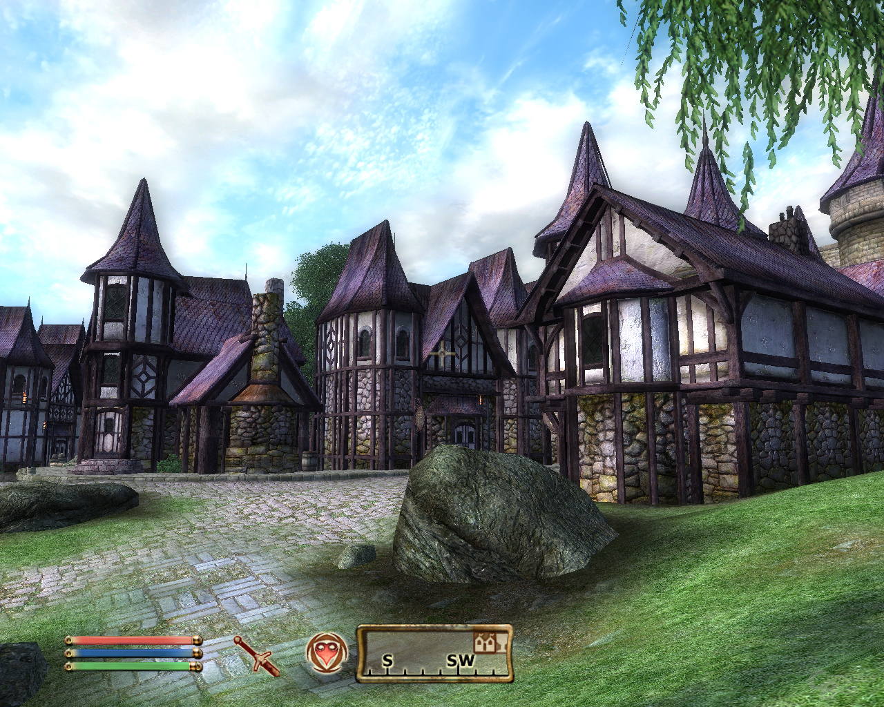 Oblivion – Nvidia 3x3AA (SSAA)