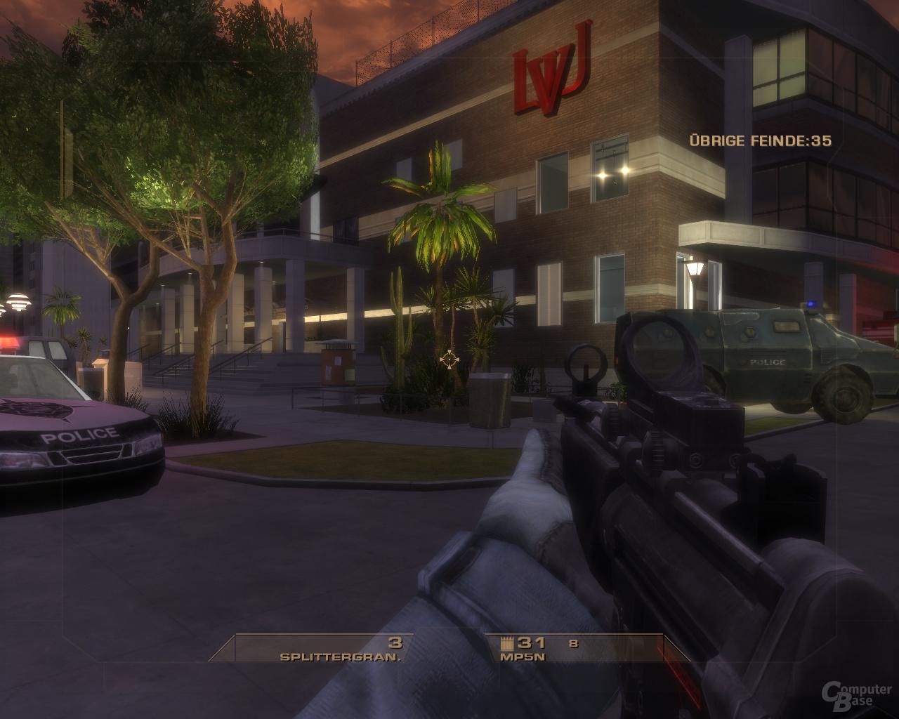 Vegas – Nvidia 8xAA (CSAA)