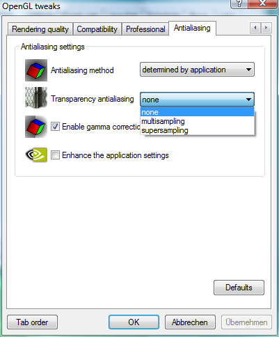 RivaTuner – OpenGL Tweaks