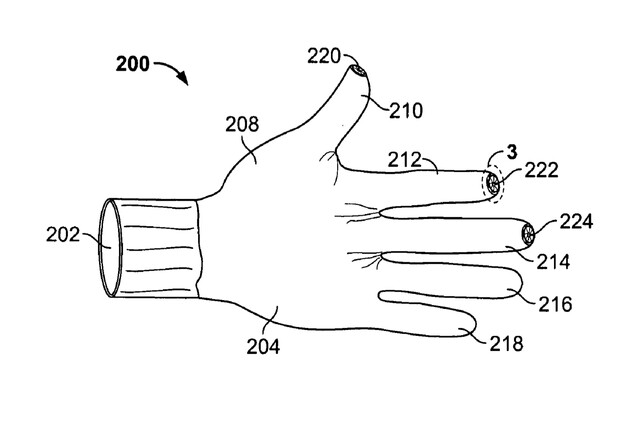 Apple Patent Handschuh