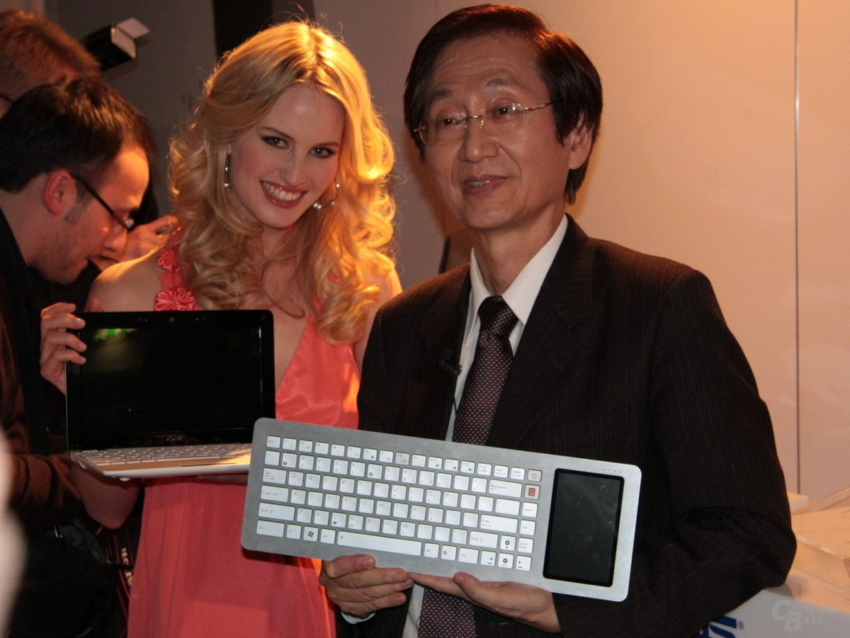 CeBIT 2009 – Asus Eee Keyboard