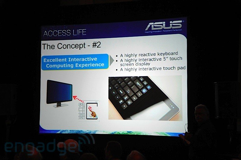 CES 2009 – Asus Eee Keyboard – Konzept
