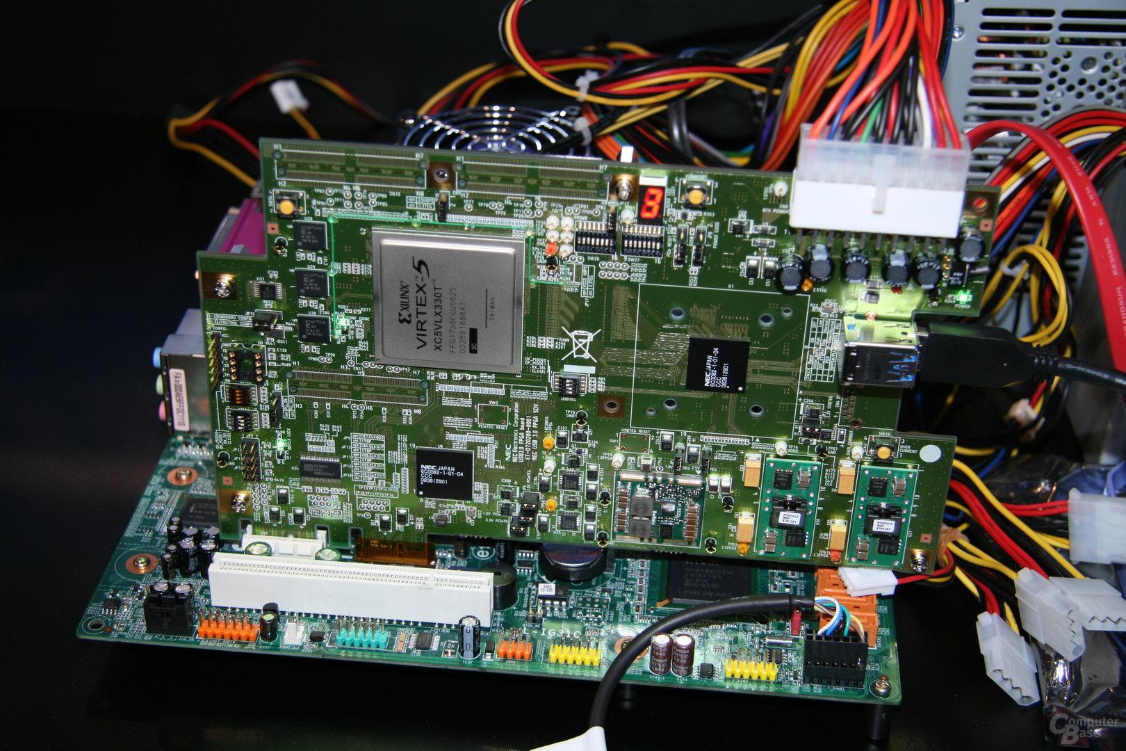USB 3.0 auf der CES 2009 in Aktion