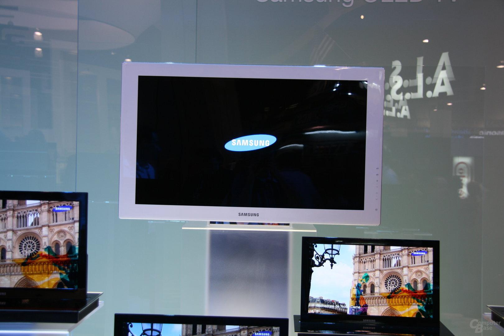 Samsung OLEDs auf der CES 2009