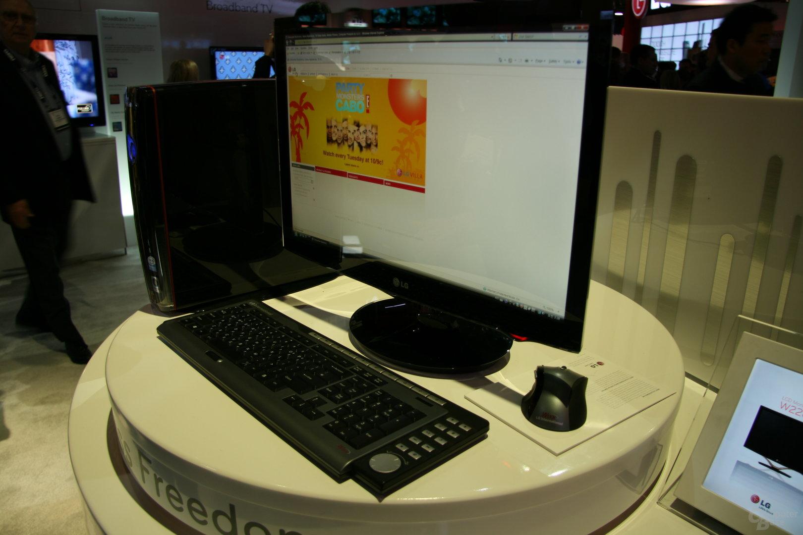 LG auf der CES 2009