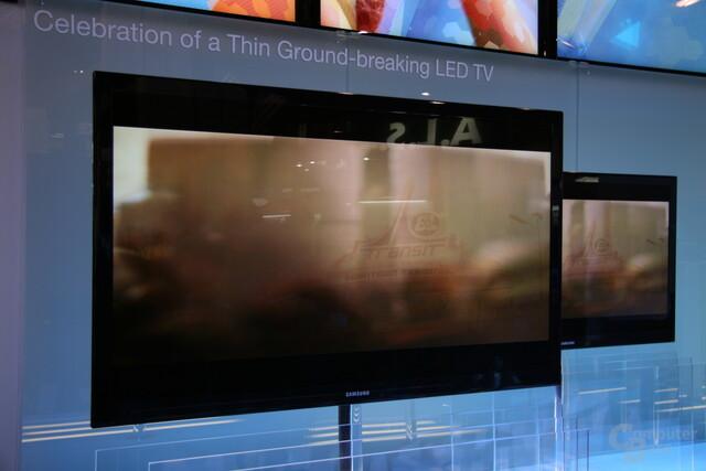 Samsung CES 2009 LED-TV