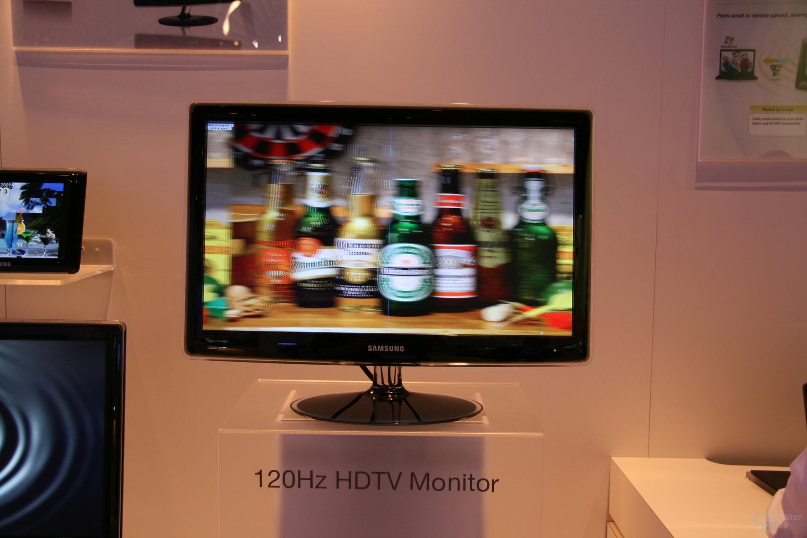 Monitore und Fernseher mit 120 Hz von Samsung