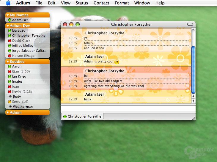 Adium – Multi-Messenger