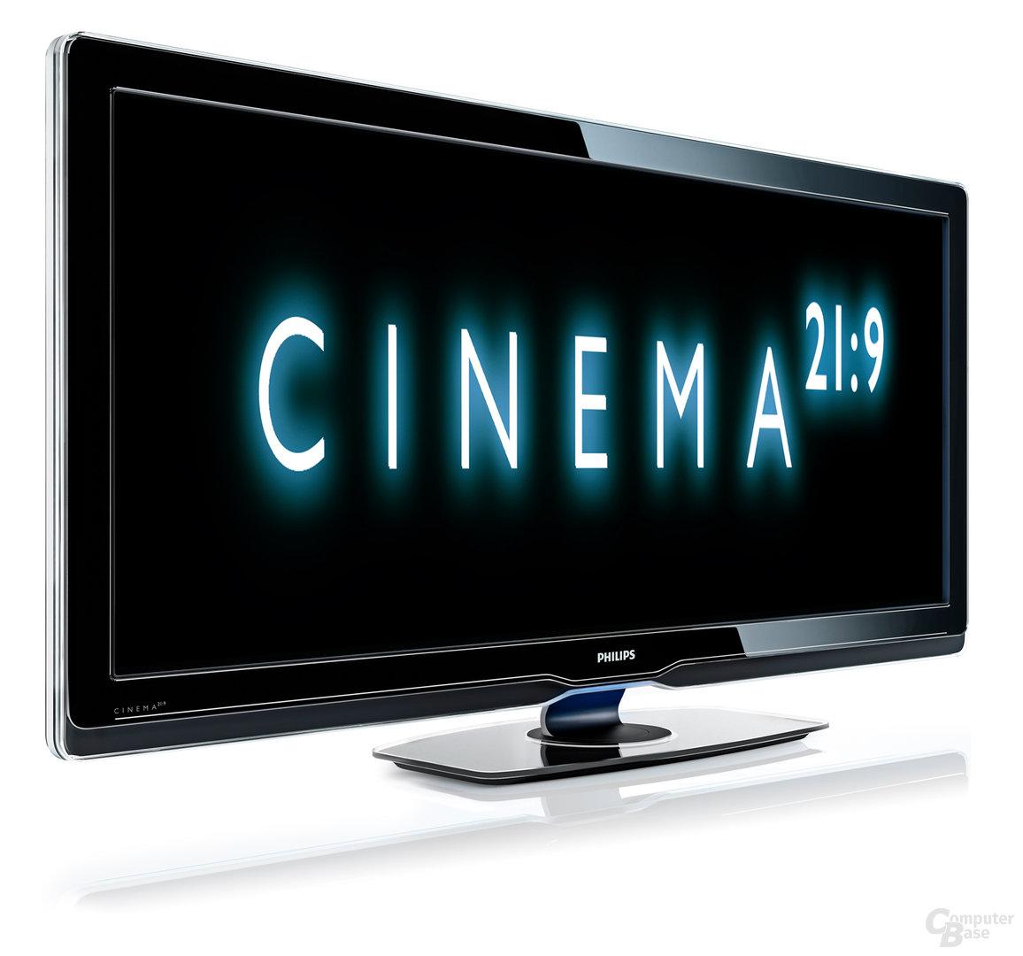 Philips-TV im Cenemascope-Format (21:9)