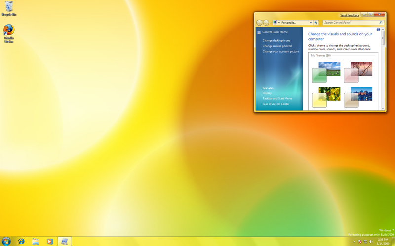 Windows 7 Themes