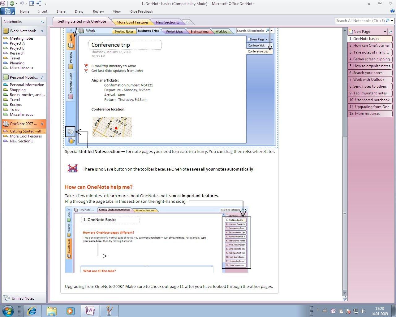 Microsoft Office 14 – OneNote