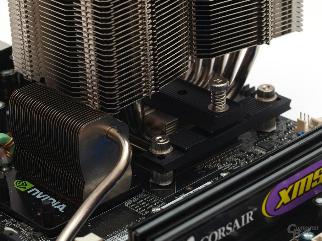 13Kollisionskurs auch bei den Chipsatzkühlern