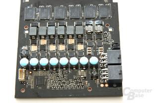 GeForce GTX 285 Spannungswandler