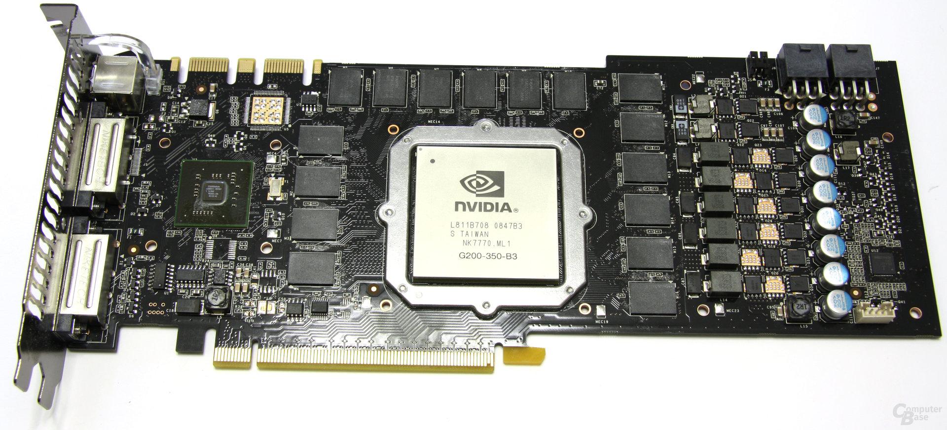 GeForce GTX 285 ohne Kühler