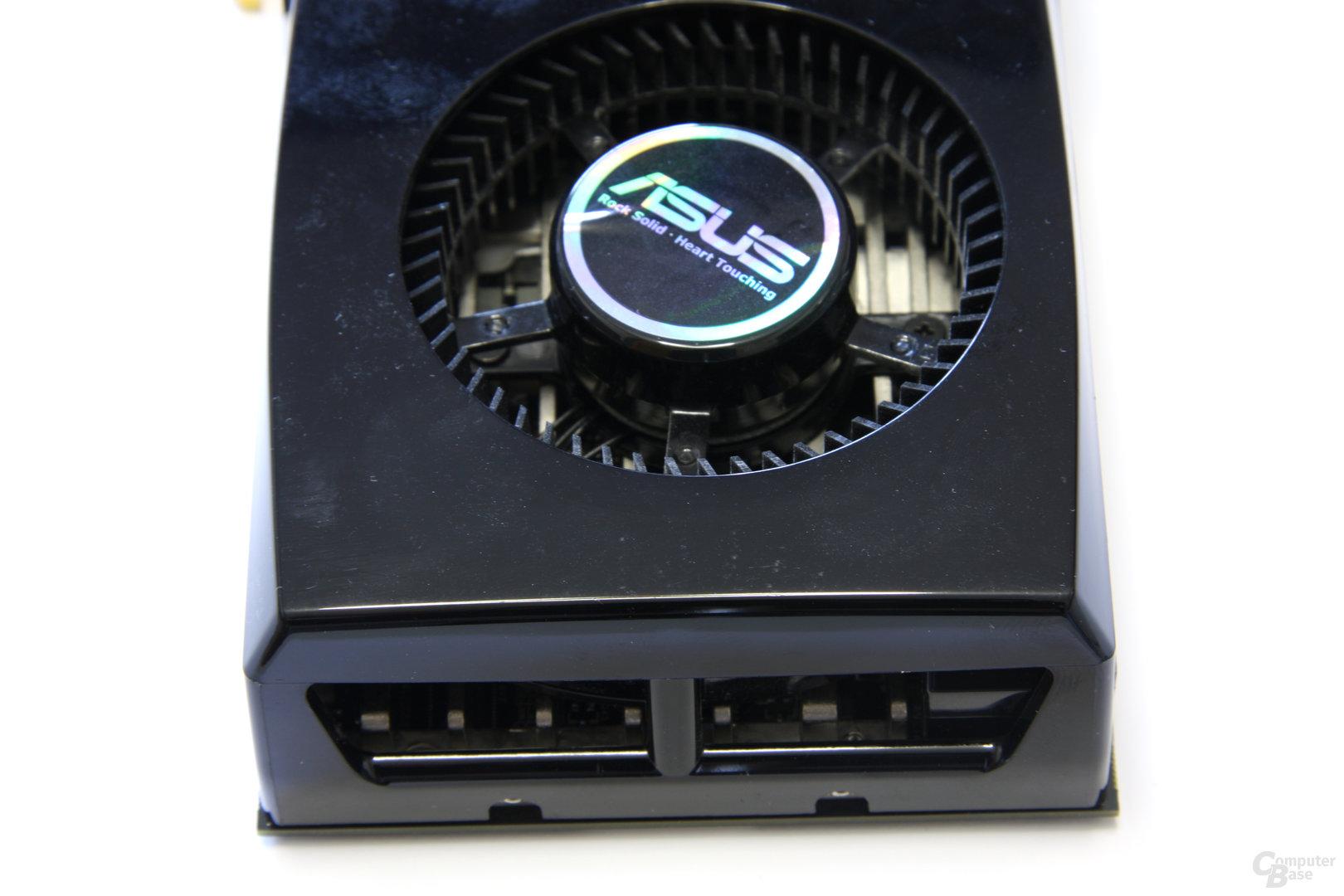 GeForce GTX 285 Kühlerende