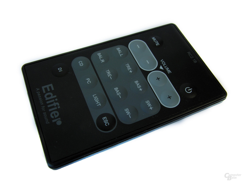 Funkfernbedienung des Edifier S730