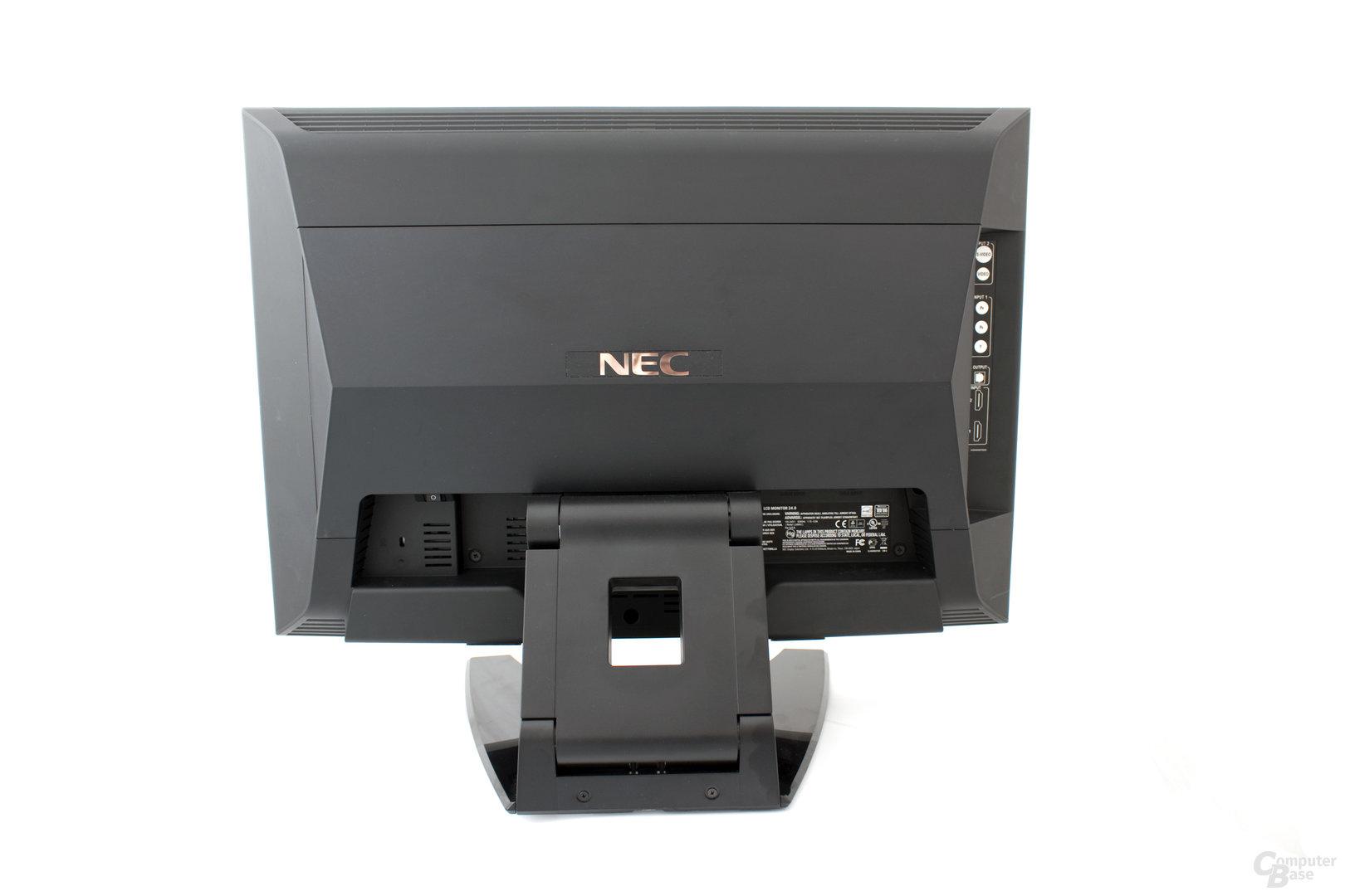 Rückansicht NEC 24WMGX³