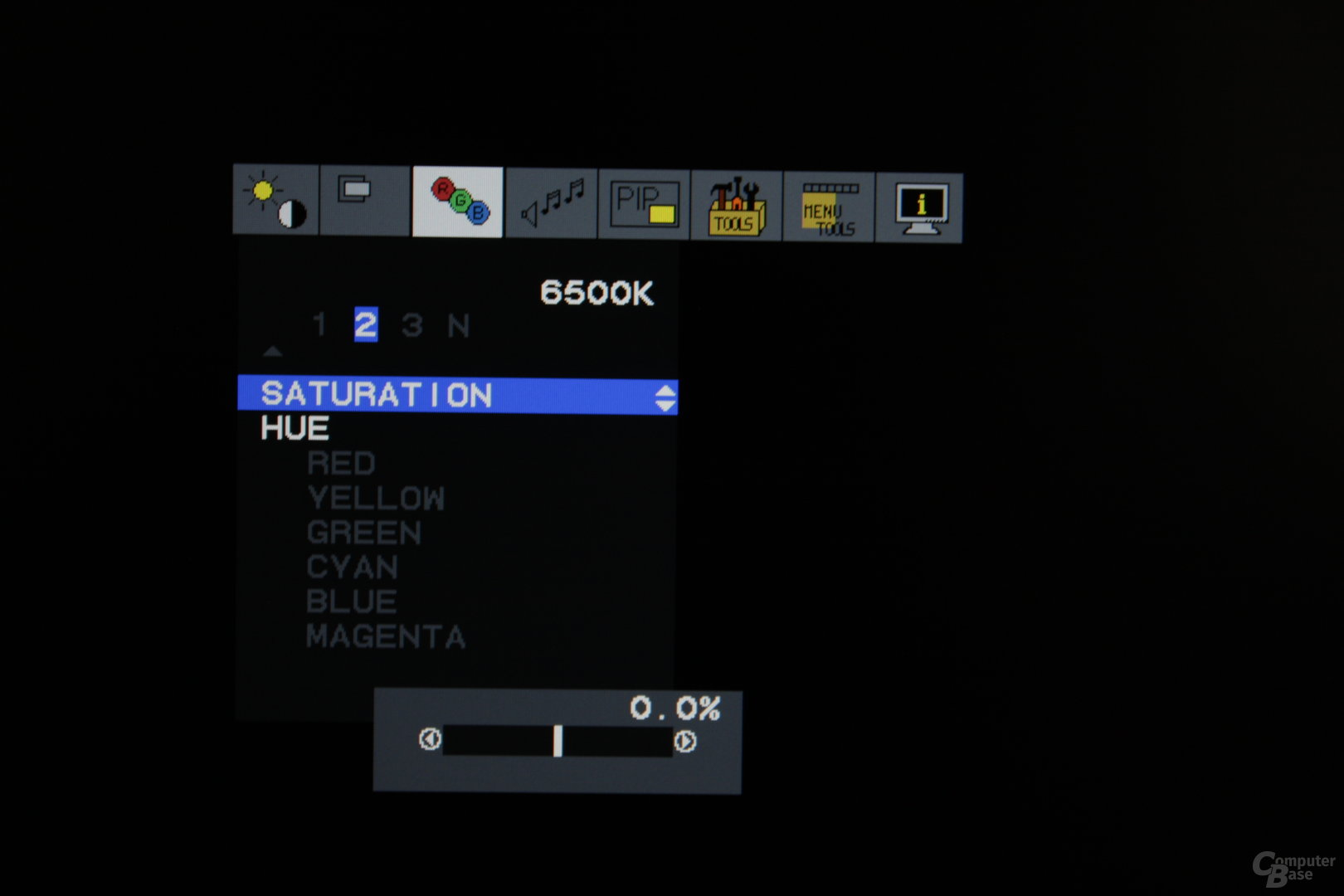 OSD NEC 24WMGX³