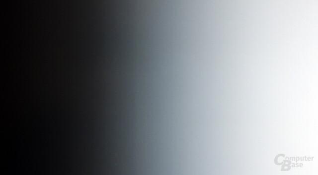 Farbverlauf am VGA-Eingang