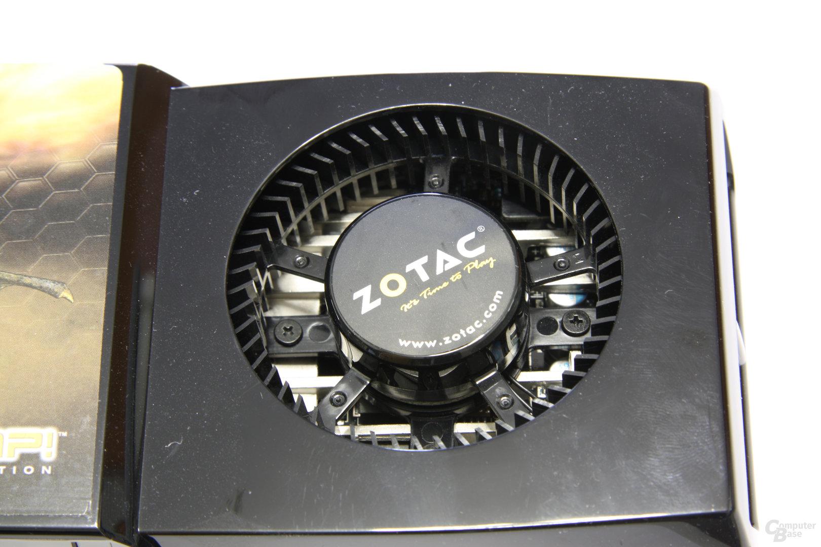 Zotac GeForce GTX 285 AMP! Lüfter