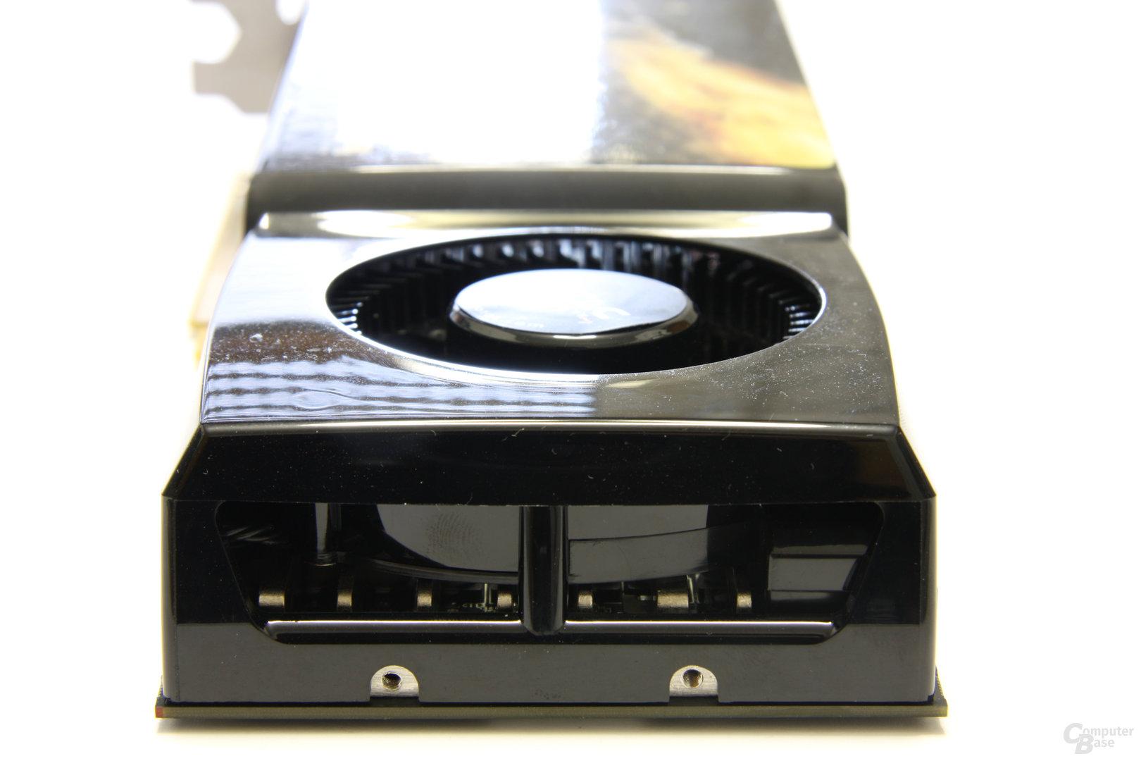 Zotac GeForce GTX 285 AMP! von hinten