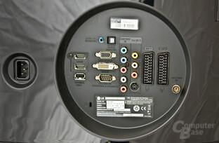 Anschlussmöglichkeiten LG M2794D