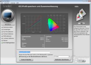 Farbmessung im Normal-Profil