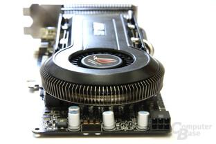Radeon HD 4850 Matrix von hinten