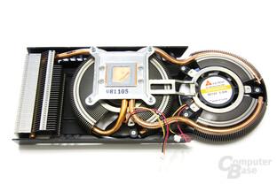 Radeon HD 4870 Matrix Kühlerrückseite