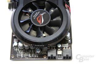Radeon HD 4870 Matrix von oben