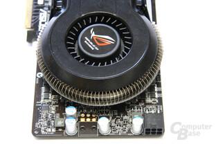Radeon HD 4850 Matrix Kühlerende