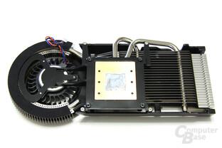 Radeon HD 4850 Matrix Kühlerrückseite