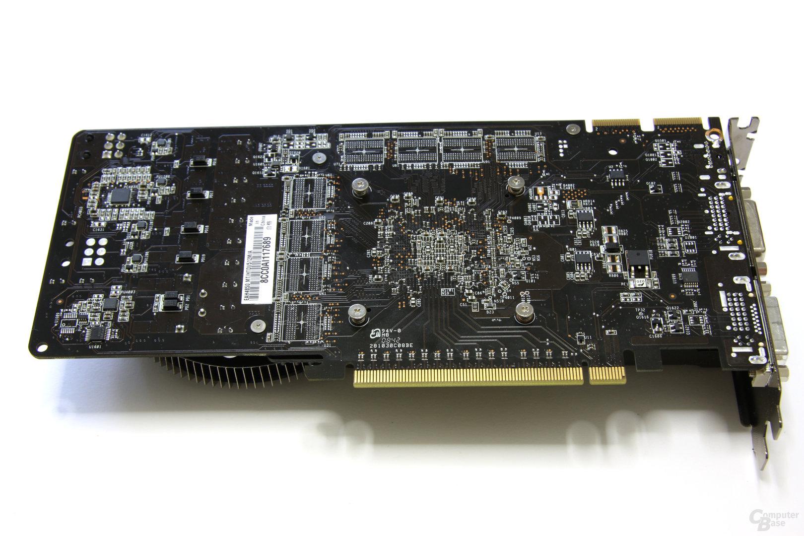 Radeon HD 4850 Matrix Rückseite