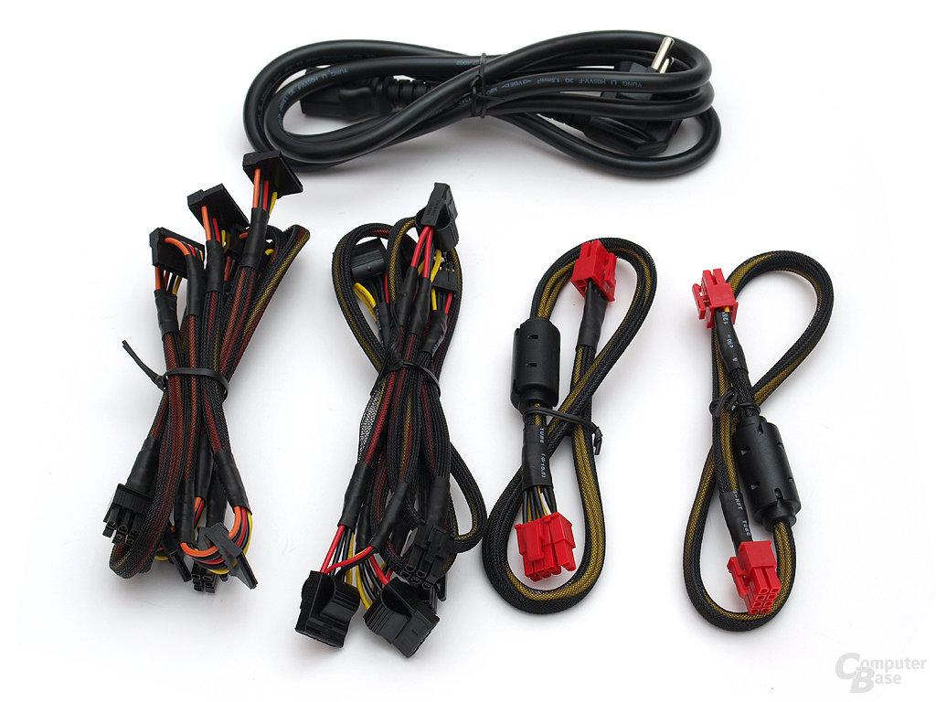 Modulare Kabelstränge