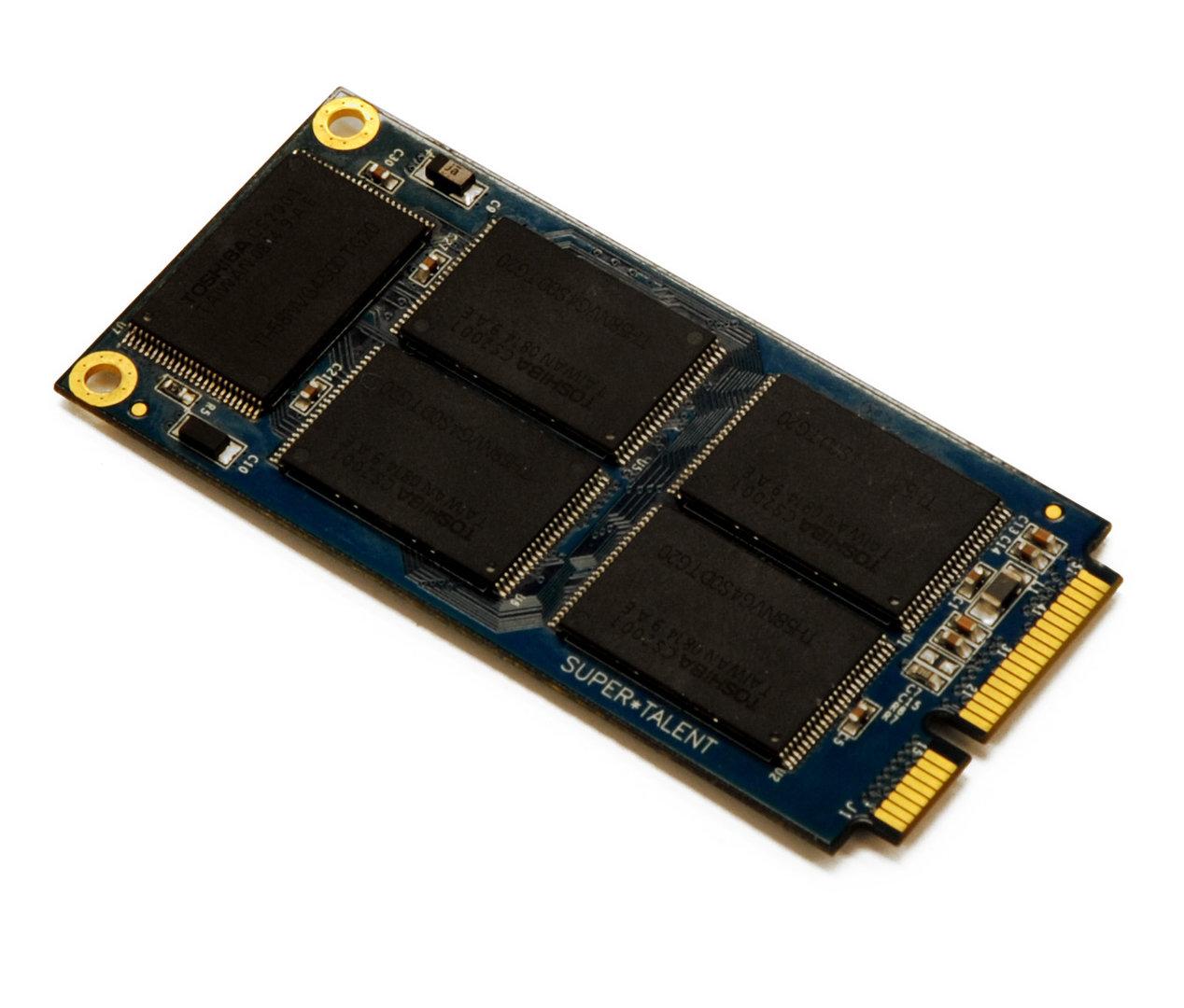 Super Talent SATA-Mini-PCIe-SSD