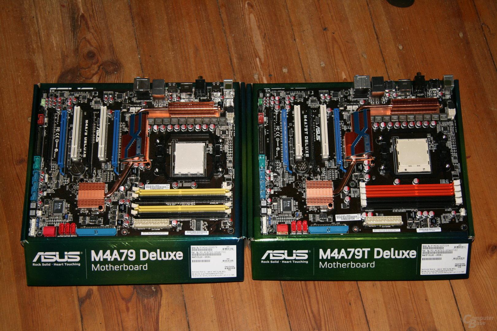 Neue Asus-Mainboards für AMD-CPUs