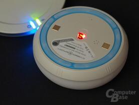 Optischer Sensor und Lichtspiel