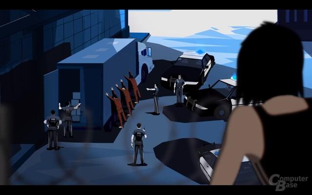 """Zwischensequenz aus """"Mirror's Edge"""": Sicherheit steht über allem"""