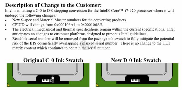 D0-Stepping der Core i7