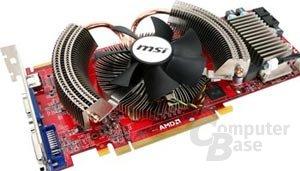 MSI Radeon HD 4870 mit 9-cm-Lüfter