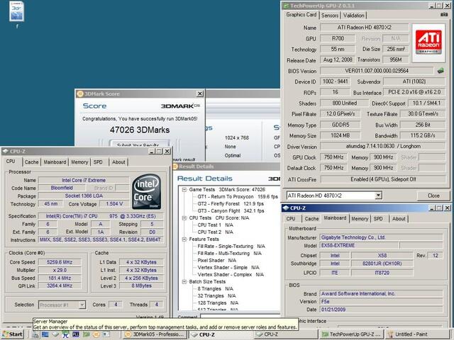 Intel Core i7-975 mit 3,33 GHz und D0-Stepping