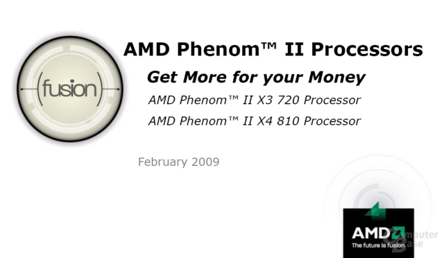 AMD Phenom II - Get More for your Money