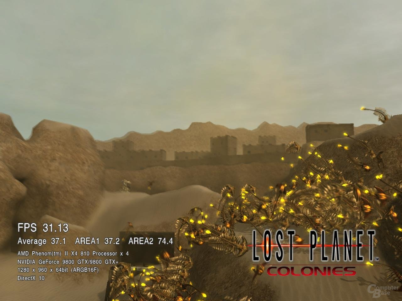 Phenom II X4 810 in Lost Planet