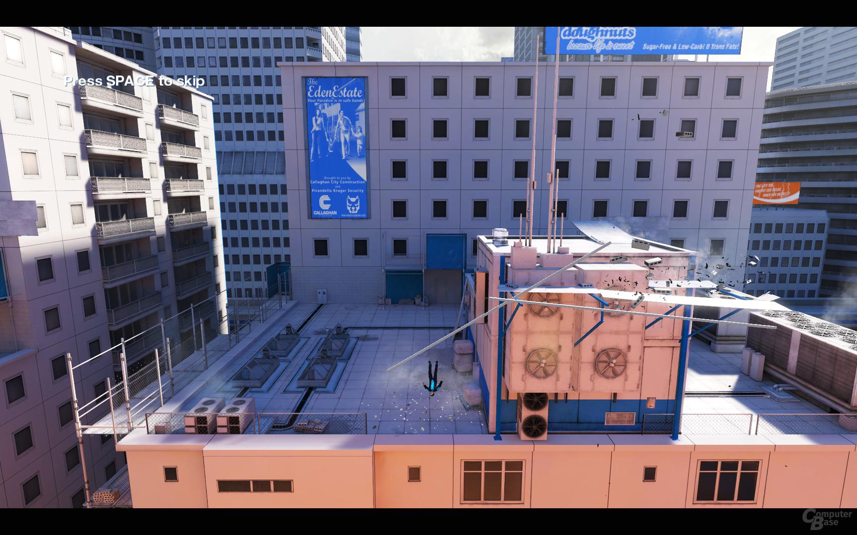 Mirror's Edge mit PhysX